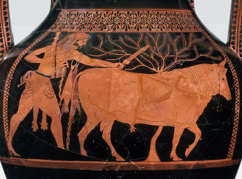 andokides-herakles-driving-bull-detail