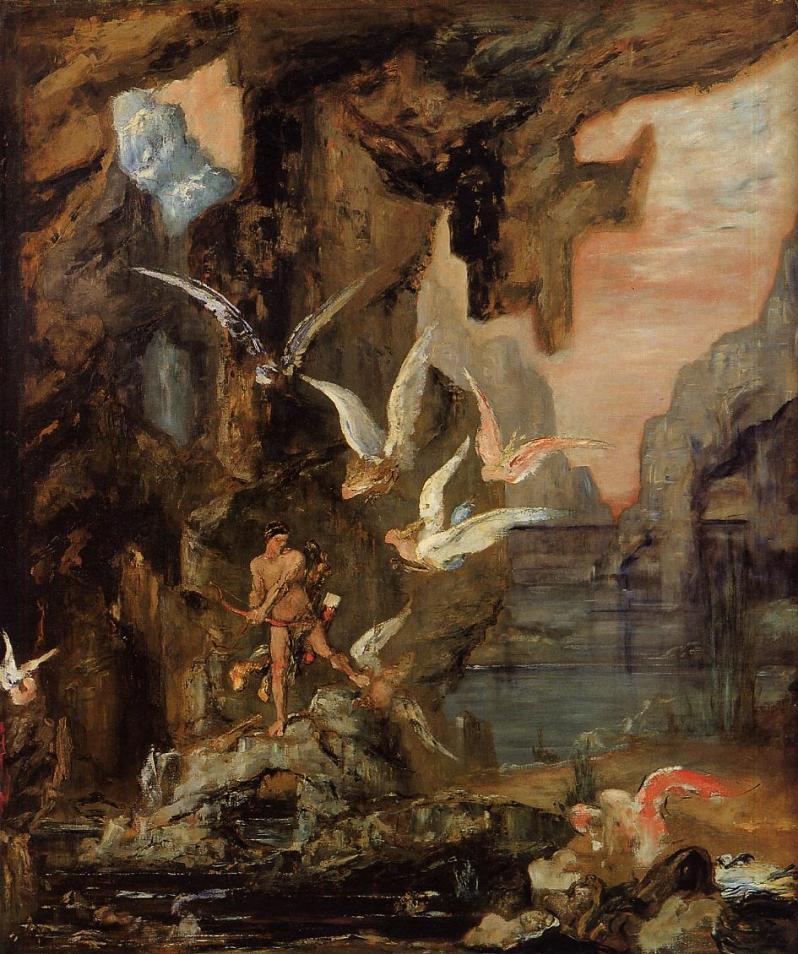 Gustave_Moreau_-_Hercules_at_Lake_Stymphalos