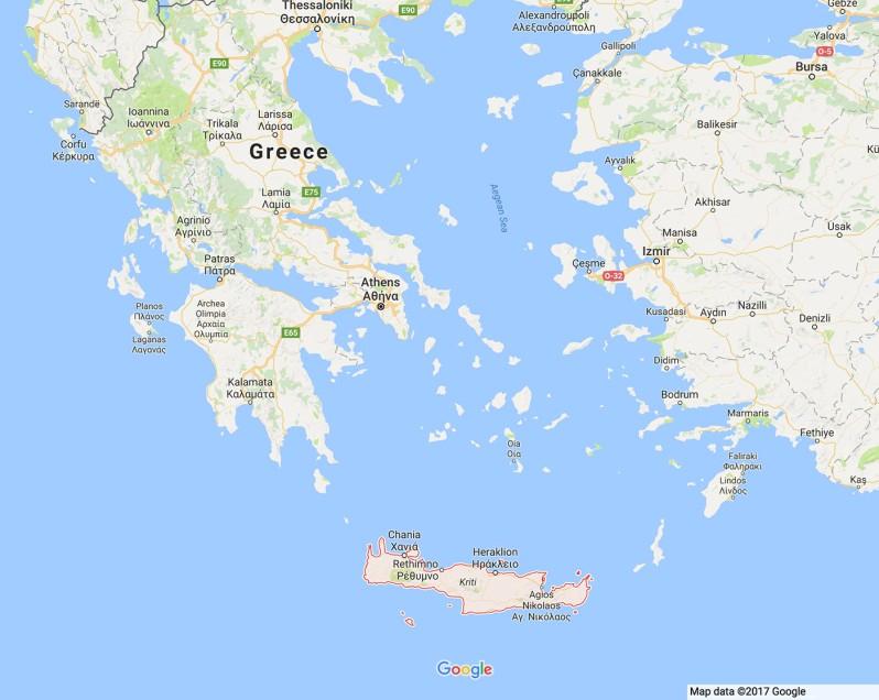 map-crete