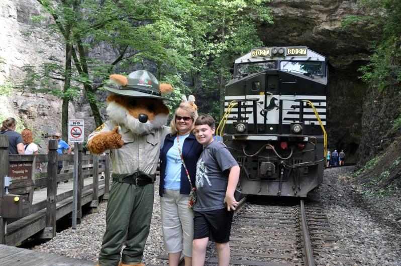 Railroad Day @ Natural Tunnel